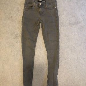 Express jeans (legging) in grey size 4R